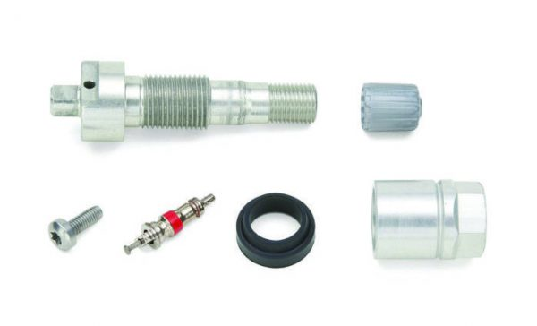 Schrader Aluminum clamp-in Fixed Angle valve stem 5061