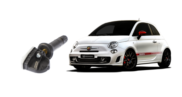 Abarth 500 2008+ Tyre Pressure Monitor (TPMS)