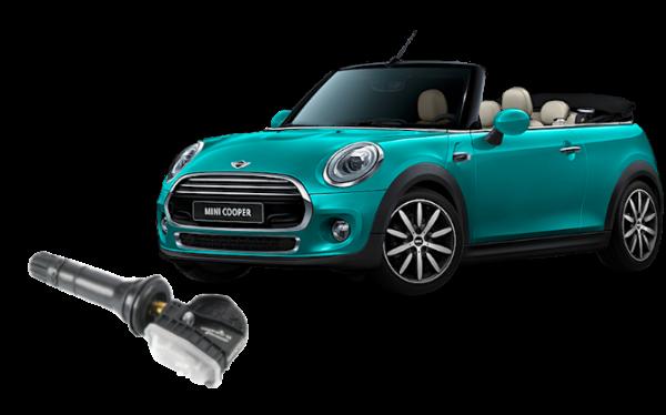 Mini Cabrio 2014-2015 Replacement TPMS Sensor