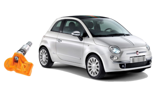 Tyre Pressure Monitor (TPMS) Fiat 500 2007+
