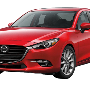Mazda 3 2014-2018 Indirect System without TPMS sensors